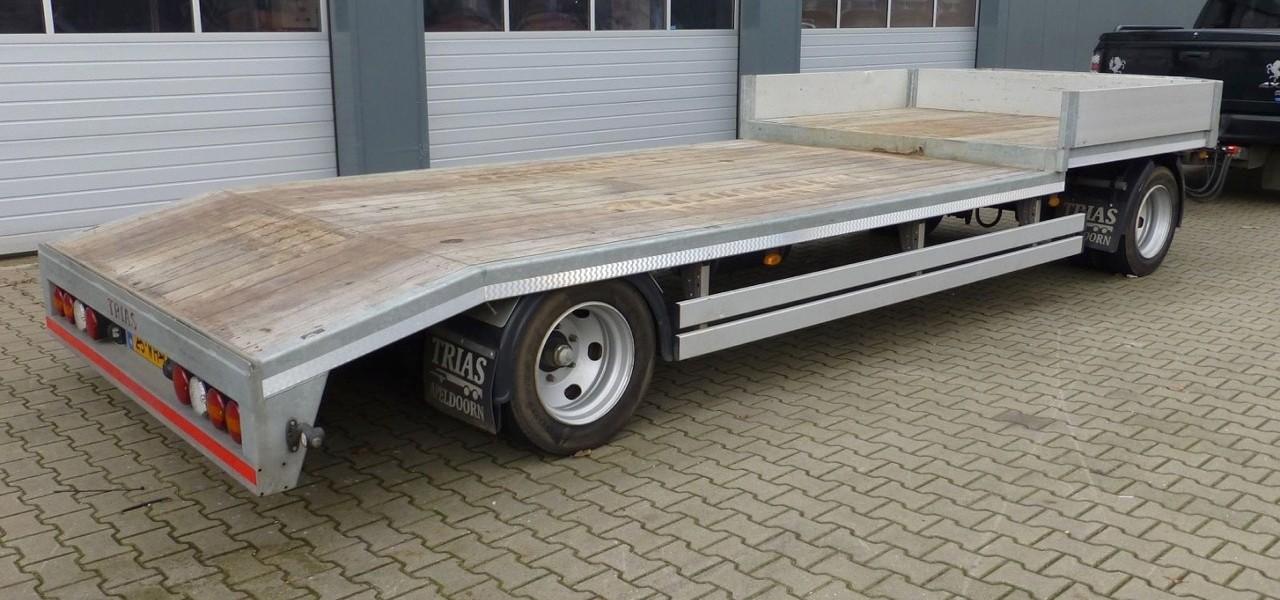 Transport aanhanger tot 9500 kilo